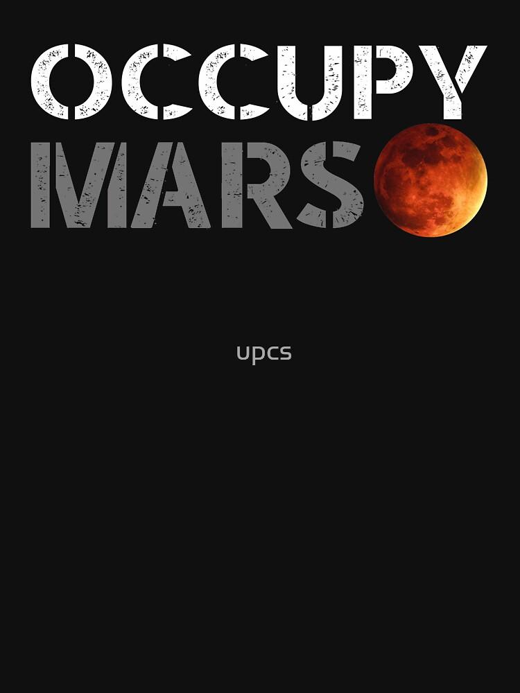 elon musk occupy mars | Unisex T-Shirt