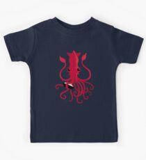 Camiseta para niños Kraken Attaken