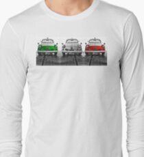 FIAT 600D - Forza Italia version Long Sleeve T-Shirt