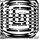 The Cubic Spiral Maze Artwork by Yanito  Freminoshi