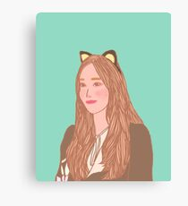 """Jessica Jung """"Fly"""" 2 Canvas Print"""