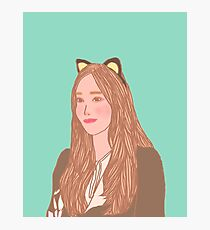 """Jessica Jung """"Fly"""" 2 Photographic Print"""