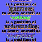 to know oneself... by TeaseTees