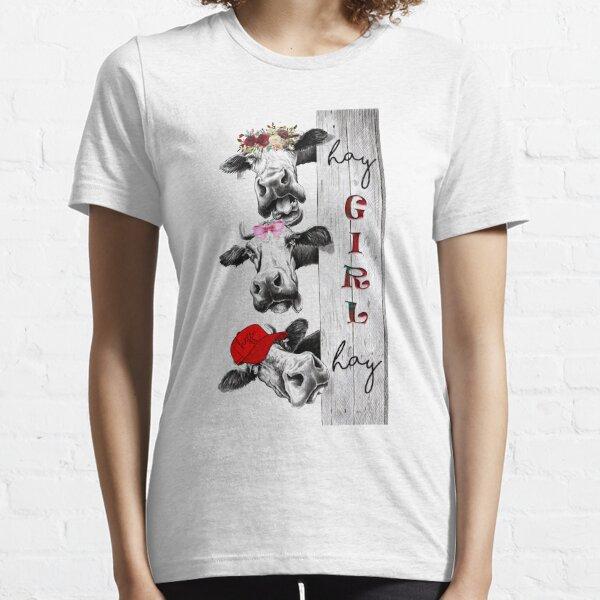 Hay Girl Essential T-Shirt