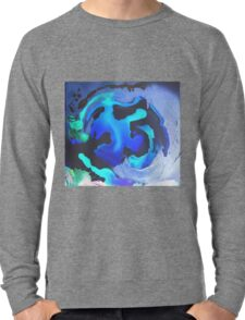 Swim with the Mermaids in the Great Natural Deep Blue Sea Lightweight Sweatshirt
