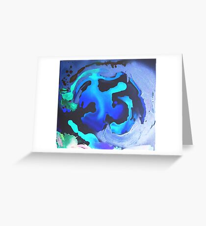 Swim with the Mermaids in the Great Natural Deep Blue Sea Greeting Card
