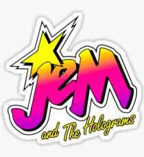 JEM AND THE HOLOGRAMS Sticker
