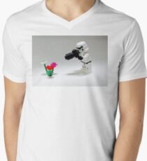 Storm Trooper Photographer Mens V-Neck T-Shirt