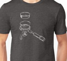Exploded Portafilter Unisex T-Shirt