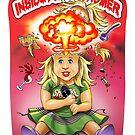 SheVibe Presents Schamey Amy Cover Art - Sticker by shevibe