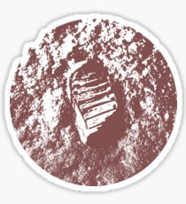 MOON PRINT  apollo 11 Sticker