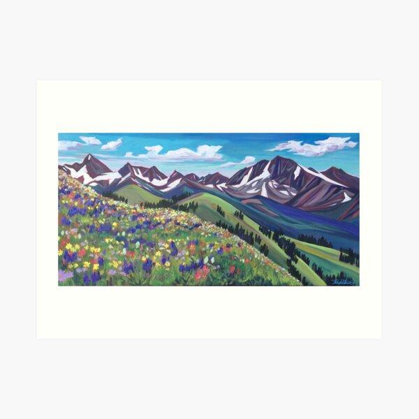 Wildflower Wonder Art Print
