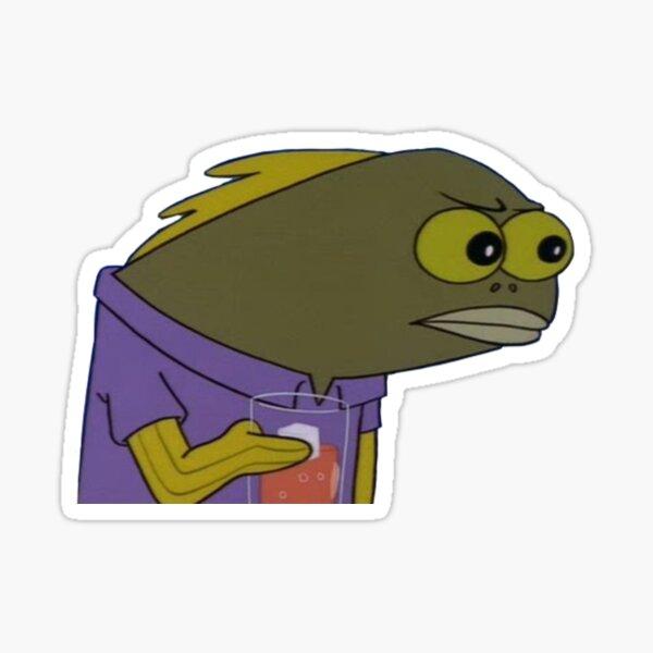 thirst fish Sticker