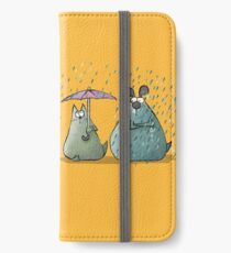 Rain - Cat and Dog iPhone Wallet/Case/Skin