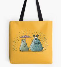 Rain - Cat and Dog Tote Bag