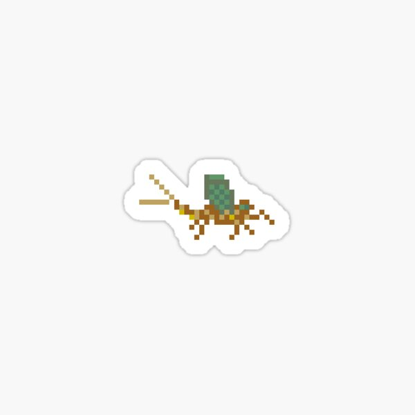 Mayfly Fly Fishing Sticker Sticker