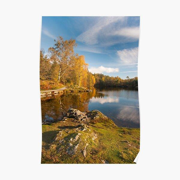 Tarn Hows Autumn Poster