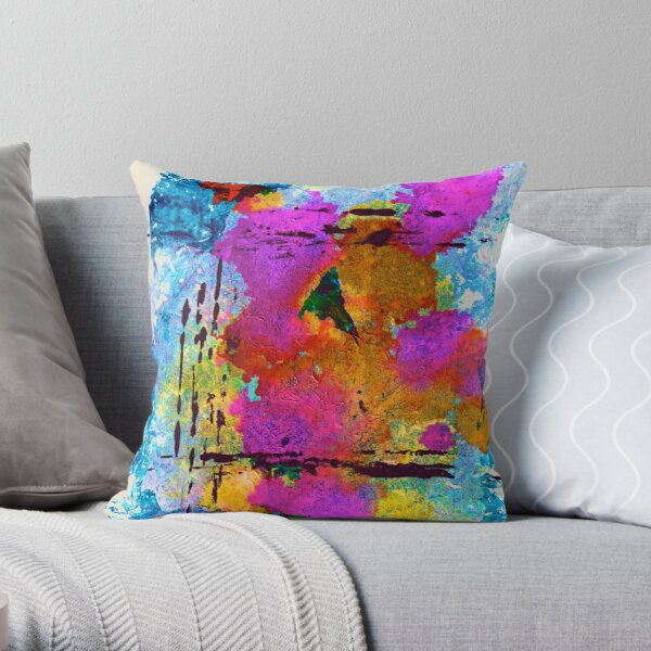 OPTIMISM Throw Pillow