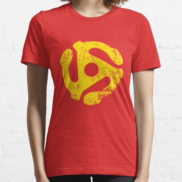 45 RPM Record adapter Tee Essential T-Shirt