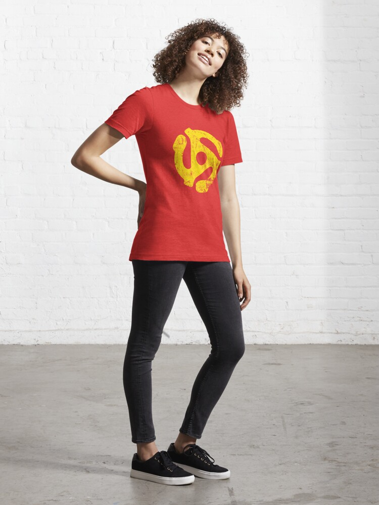 Alternate view of 45 RPM Record adapter Tee Essential T-Shirt