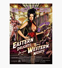 SheVibe Vibratex Eastern Delights - Western Nights Cover Art Photographic Print