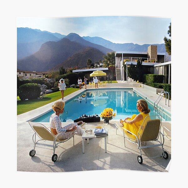 yellow slim poolside gossip Poster