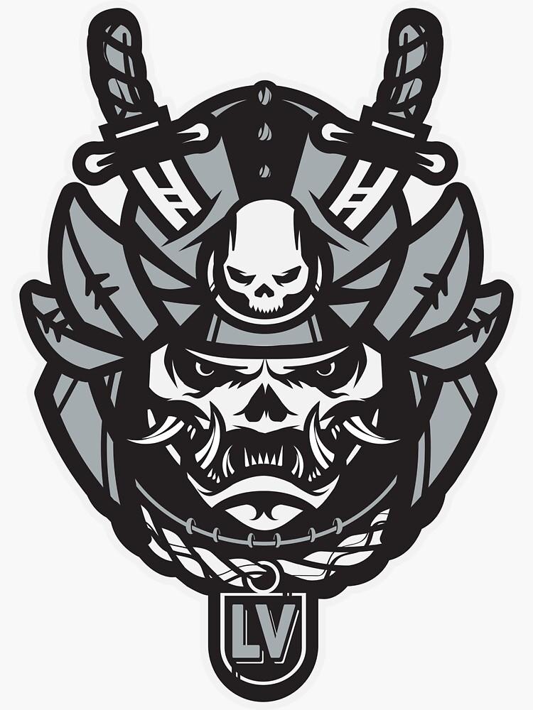 Raider Football Samurai by OrganicGraphic