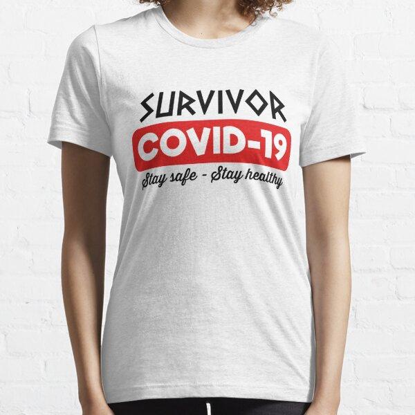 Survivor Covid-19 (White) Essential T-Shirt