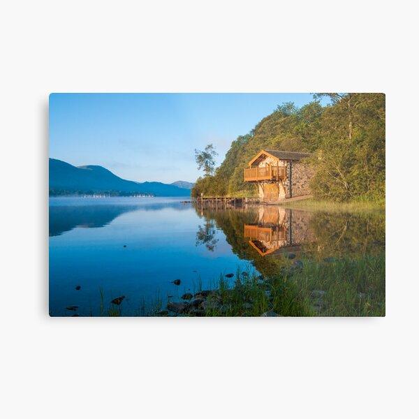 Ullswater Boathouse Metal Print