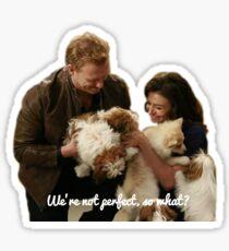 Owen and Amelia Sticker