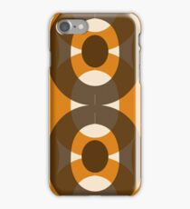 70s style pattern / retro look iPhone Case/Skin
