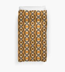 70s style pattern / retro look Duvet Cover