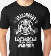 Dragonborn Power Gym T-Shirt
