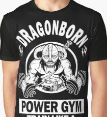Dragonborn Power Gym Graphic T-Shirt