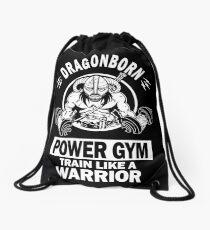 Dragonborn Power Gym Drawstring Bag