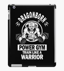 Dragonborn Power Gym iPad Case/Skin