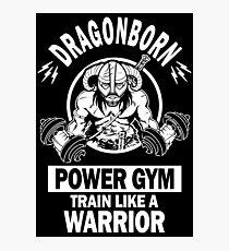 Dragonborn Power Gym Photographic Print