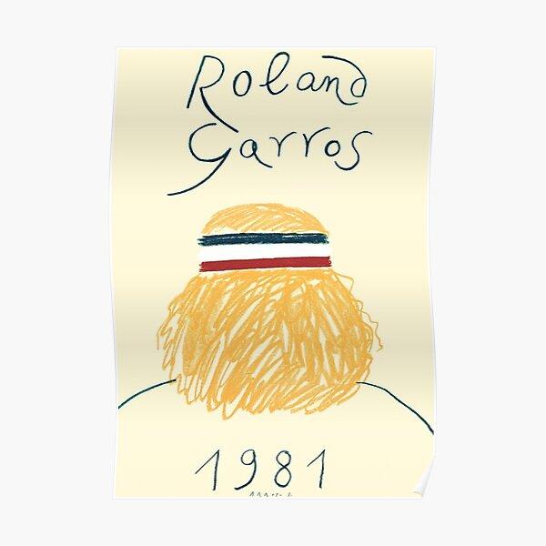 Eduardo Arroyo - Roland Garros 1981 Poster