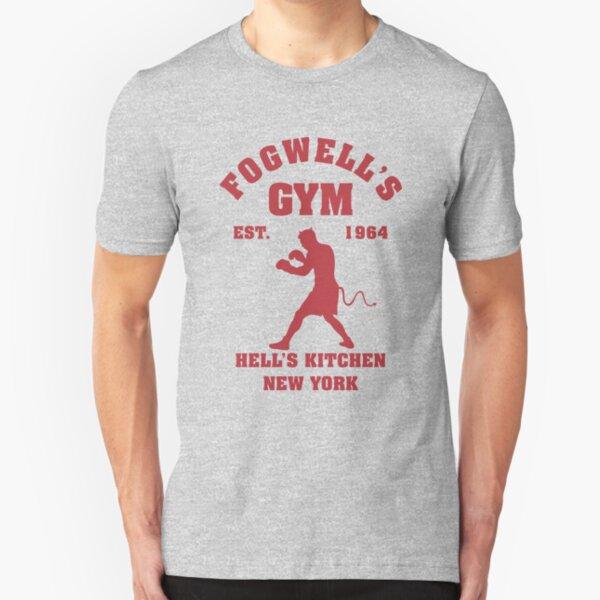 Fogwell's Gym Box the Devil Slim Fit T-Shirt