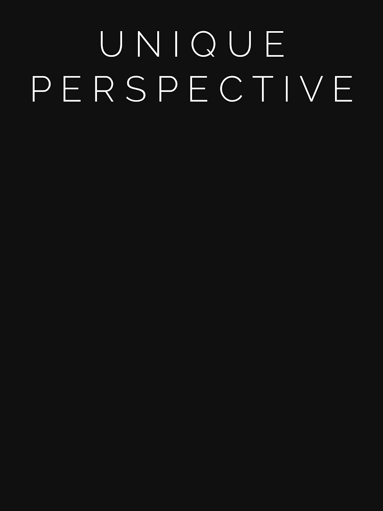 Unique Perspective Black  by BlackRhino1