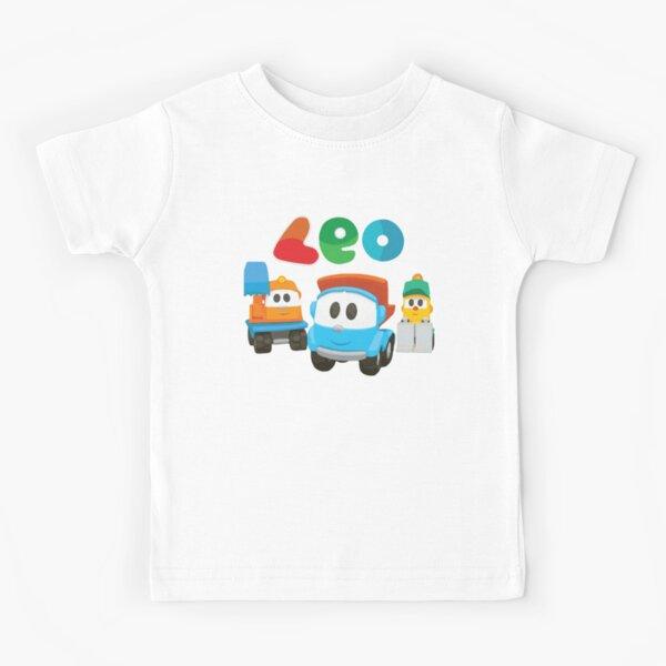 Leo le camion, lifty et scoop T-shirt enfant