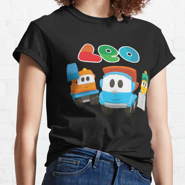 leo the truck, lifty and scoop  Classic T-Shirt