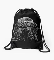 Firmament Official Merchandise - Cnidarian Black Drawstring Bag
