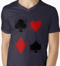 Ace of Tee. Men's V-Neck T-Shirt