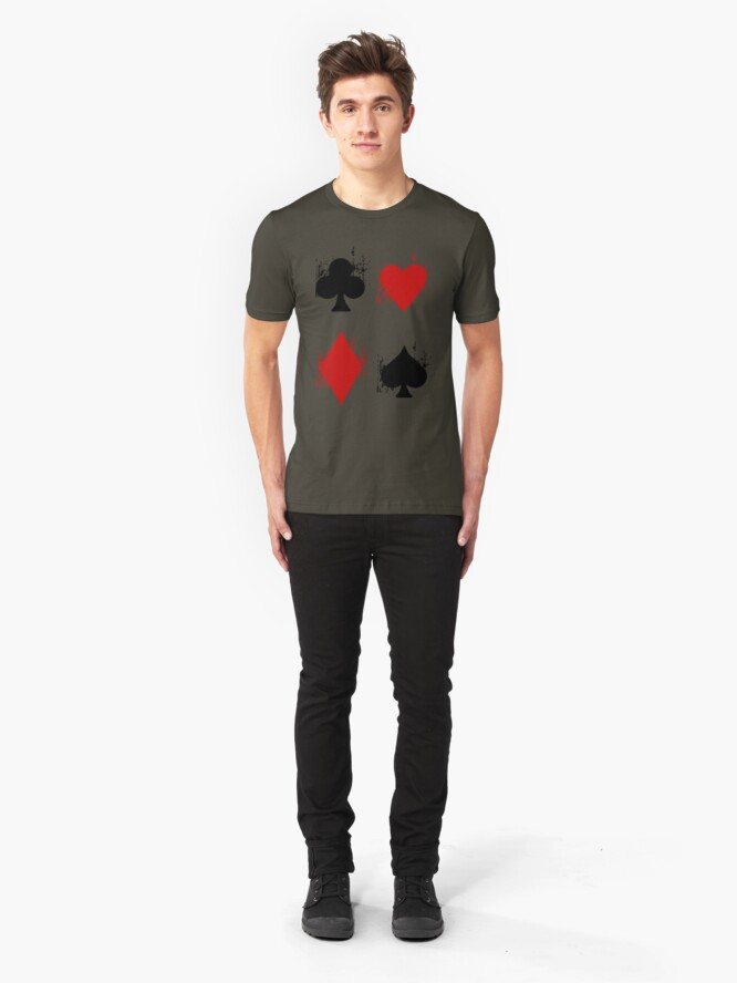 Alternate view of Ace of Tee. Slim Fit T-Shirt