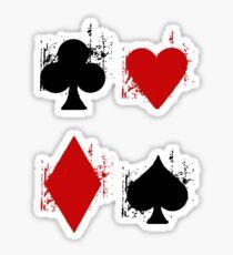 Ace of Tee. Sticker