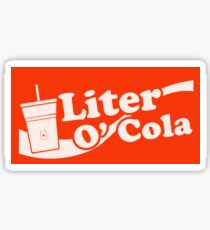 Liter o' Cola! Sticker