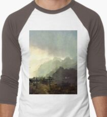 Misty Mountain Men's Baseball ¾ T-Shirt