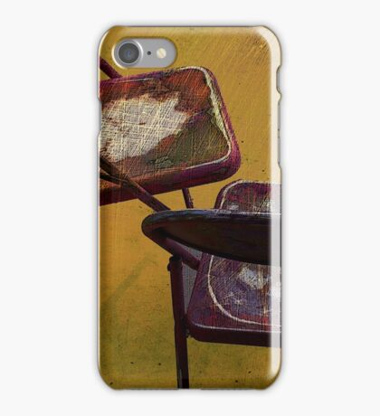 Center Stage Digital painting by Alma Lee iPhone Case/Skin
