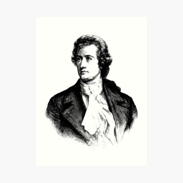 Johann Wolfgang von Goethe Art Print